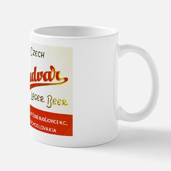 Czech Beer Label 8 Mug