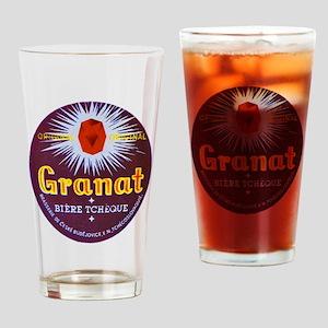 Czech Beer Label 7 Drinking Glass