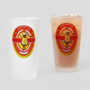 Czech Beer Label 6 Drinking Glass