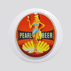 Czech Beer Label 5 Ornament (Round)