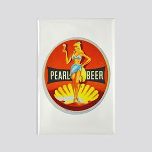 Czech Beer Label 5 Rectangle Magnet