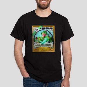 Czech Beer Label 2 Dark T-Shirt