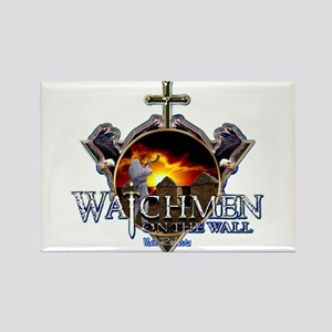 Watchmen on the wall Rectangle Magnet