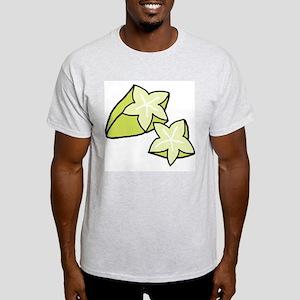 Tasty Starfruit Ash Grey T-Shirt