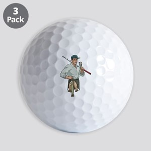 Fishing Golf Balls