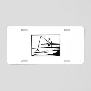 Fishing Aluminum License Plate