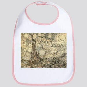 Van Gogh Starry Night Drawing Bib