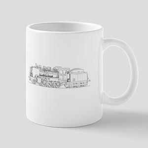 Steam Engine Train Mug