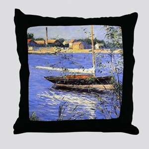 G. Caillebotte Throw Pillow