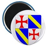Jacques DeMolay Lodge Pin Magnet