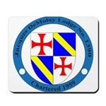 Jacques DeMolay Lodge Pin Mousepad