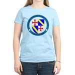 Jacques DeMolay Lodge Pin Women's Light T-Shirt