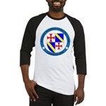 Jacques DeMolay Lodge Pin Baseball Jersey