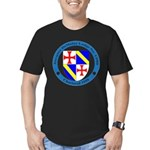 Jacques DeMolay Lodge Pin Men's Fitted T-Shirt (da