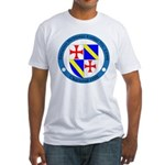 Jacques DeMolay Lodge Pin Fitted T-Shirt