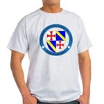 Jacques DeMolay Lodge Pin Light T-Shirt