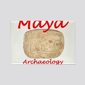 Maya archaeology - Architect Glyph Rectangle Magne