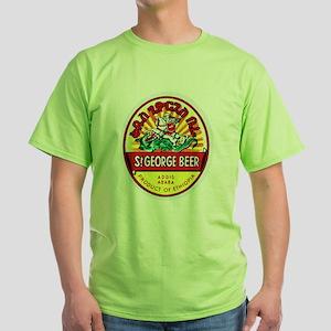 Ethiopia Beer Label 4 Green T-Shirt