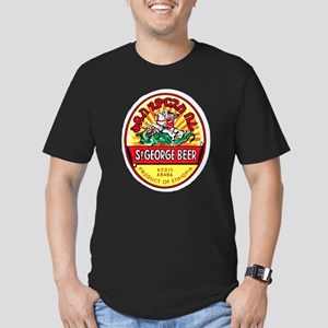 Ethiopia Beer Label 4 Men's Fitted T-Shirt (dark)
