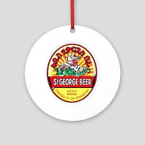 Ethiopia Beer Label 4 Ornament (Round)