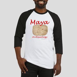 Maya archaeology - Architect Glyph Baseball Jersey