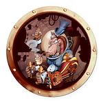 SPSCporthole Round Car Magnet