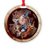 SPSCporthole Round Ornament