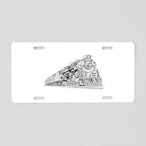 Polar Express Train Aluminum License Plate