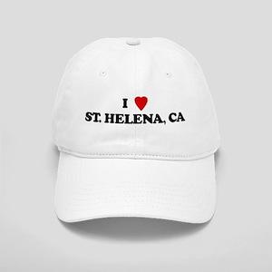 I Love ST HELENA Cap