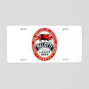 Ethiopia Beer Label 2 Aluminum License Plate