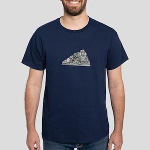 Polar Express Train Dark T-Shirt