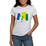 Vincy Flag Confusion Women's T-Shirt