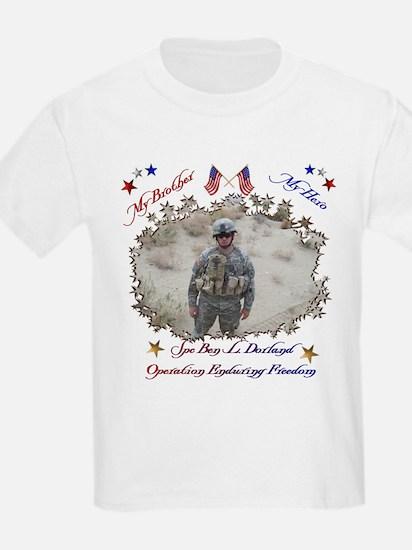 My Brother My Hero Kids T-Shirt