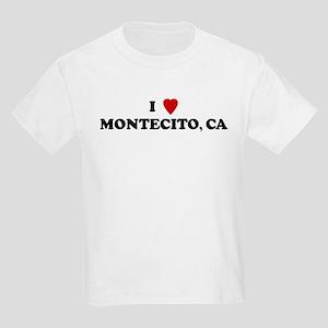 I Love MONTECITO Kids T-Shirt