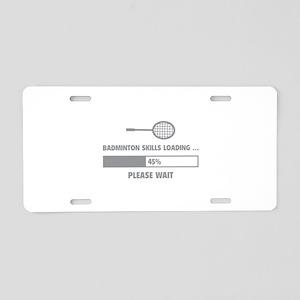 Badminton Skills Loading Aluminum License Plate