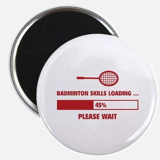 Badminton Skills Loading Magnet