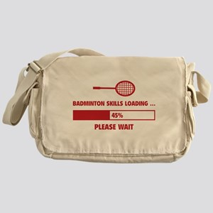 Badminton Skills Loading Messenger Bag