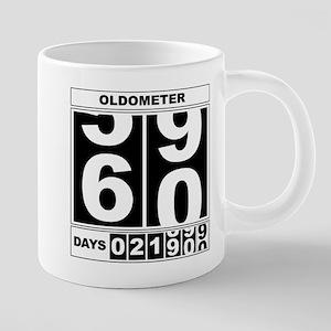 60th Birthday Oldometer Mugs