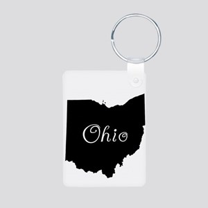 Ohio Aluminum Photo Keychain