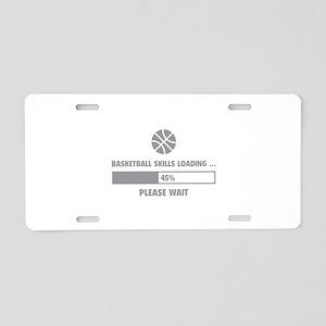 Basketball Skills Loading Aluminum License Plate