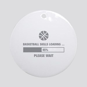 Basketball Skills Loading Ornament (Round)