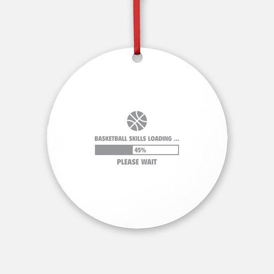 Basketball Skills Loading Ornament (Round)