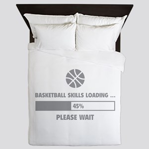 Basketball Skills Loading Queen Duvet