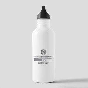 Basketball Skills Loading Stainless Water Bottle 1