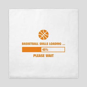Basketball Skills Loading Queen Duvet