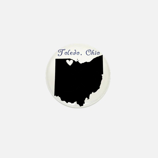 Toledo Ohio Mini Button