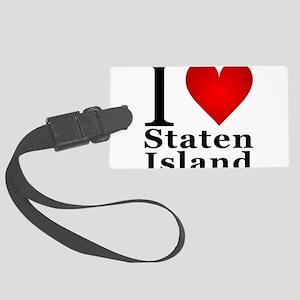 ilovestatenisland Large Luggage Tag