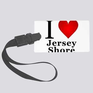 I Love Jersey Shore Large Luggage Tag