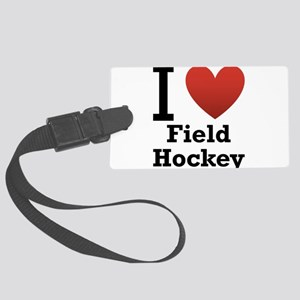 i-love-field-Hockey-light-tee Large Luggage Ta