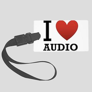 I-Love-Audio Large Luggage Tag